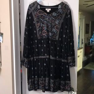 Style and Co dress/tunic. Size large.